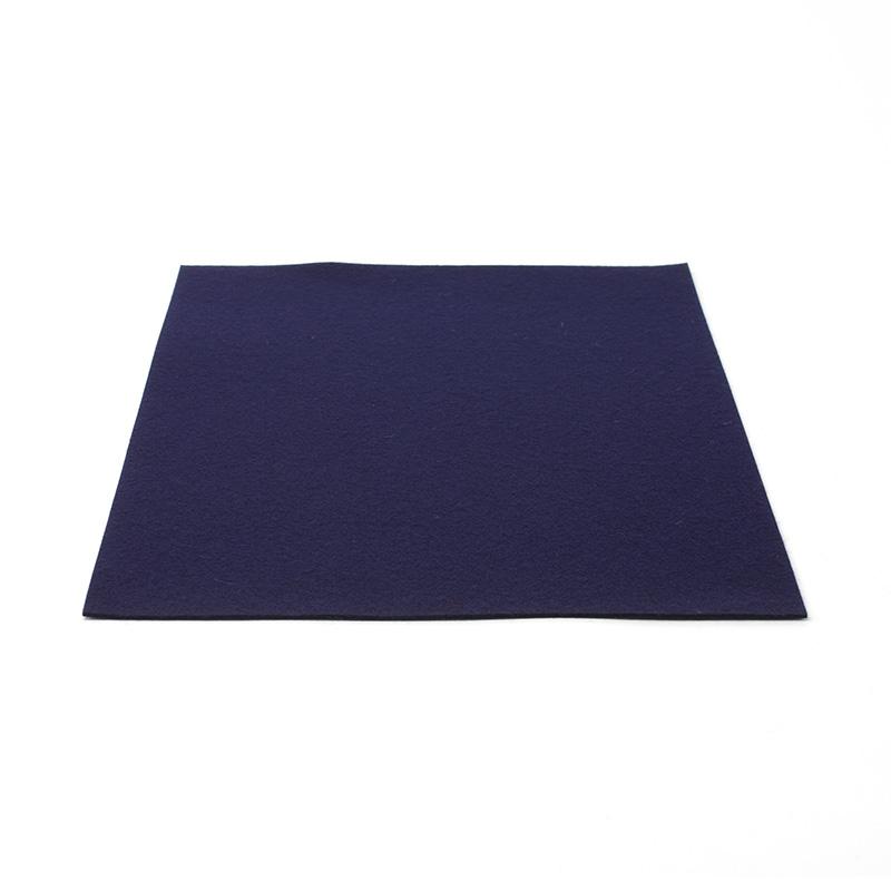 フェルト下敷 半紙用 紺 2�厚